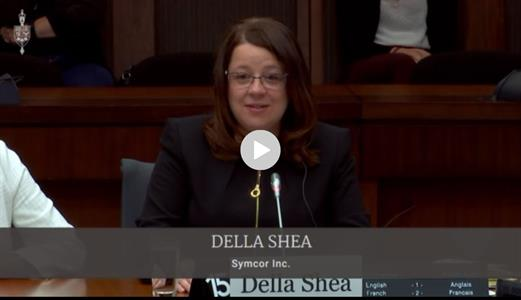 Della Shea - House of Commons - Symcor
